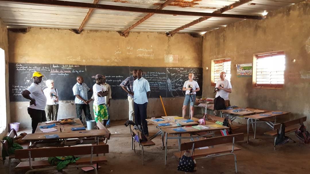 Instandsetzung des Schulgebäudes in Passy