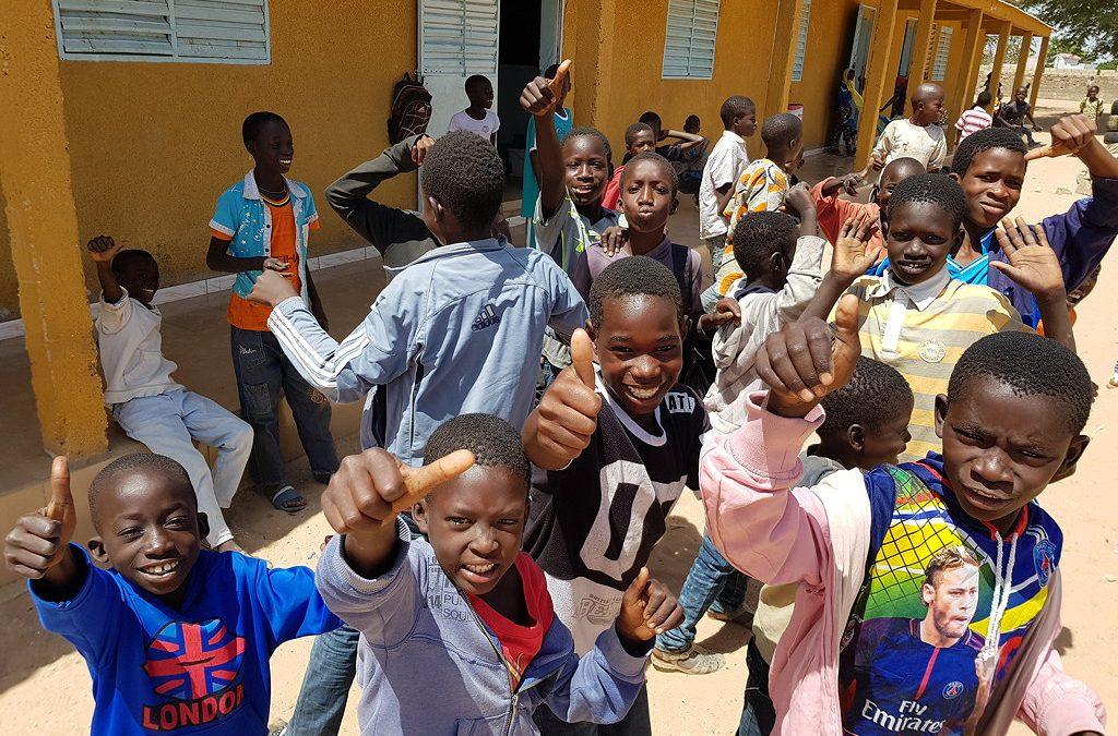 Daumen hoch für 75 realisierte Brunnen im Senegal!