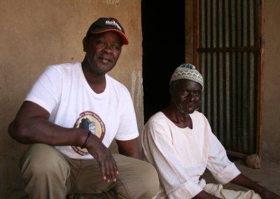 Menschen im Senegal