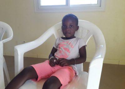 Yagou Diop nach der Operation