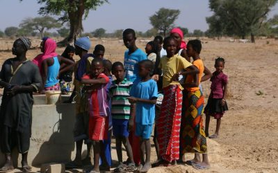 Hilfe für Abbo Sow und Start des Bauprojekts der Schule in Louly Mbafaye